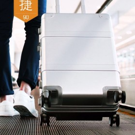 Xiaomi RunMi 90 Points Metal Suitcase Koper 20 inches - Silver - 5