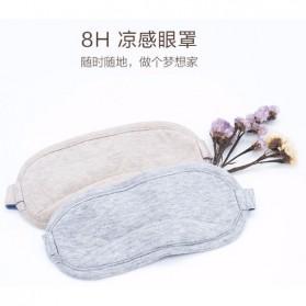 Xiaomi Sleeping Mask Penutup Mata 8H Cooling Eye Masker - Gray - 5