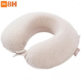 Xiaomi Mijia 8H Bantal Leher U Shape Memory Foam Neck Pillow - Beige