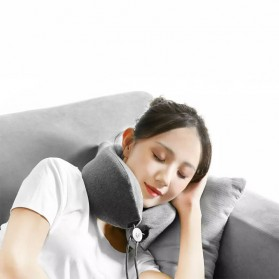 Xiaomi Mijia LF Bantal Leher Pijat U Shape Neck Pillow Relaxation Massage - LR-S100 - Gray - 4