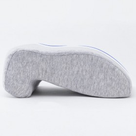 Xiaomi Youpin 8H Bantal Leher Nap Pillow Memory Cotton - K2 - Gray
