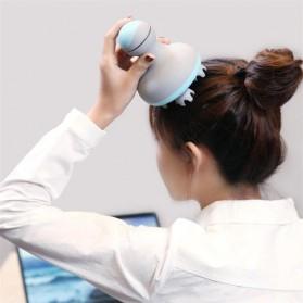 Xiaomi Youpin Mini Alat Pijat Kepala Head Massager Four Wheel Rotation - M2 - Green - 2