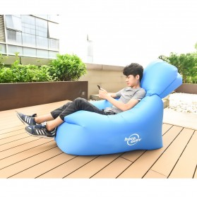 HOCO Reo Kasur Angin Lazy Bean Bag Inflatable Sofa - Blue - 3