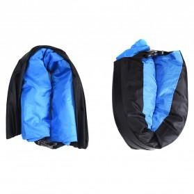 HOCO Reo Kasur Angin Lazy Bean Bag Inflatable Sofa - Blue - 5