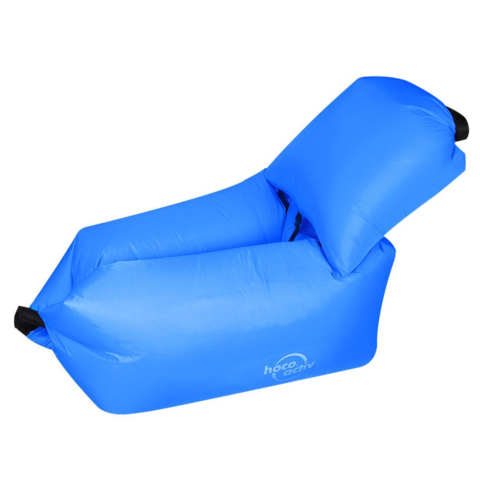 Sensational Hoco Reo Kasur Angin Lazy Bean Bag Inflatable Sofa Blue Inzonedesignstudio Interior Chair Design Inzonedesignstudiocom
