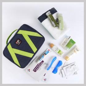 BUBM Tas Travel Bag in Bag Organizer Multifungsi - TGX-L (ORIGINAL) - Black - 5