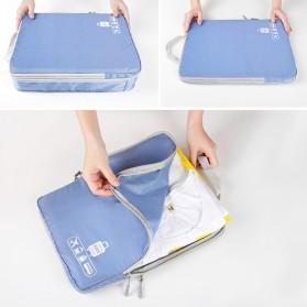 BUBM Tas Travel Bag in Bag Organizer 5 in 1 - T5JTX - Blue - 7