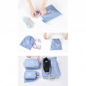 BUBM Tas Travel Bag in Bag Organizer 5 in 1 - T5JTX - Blue - 9
