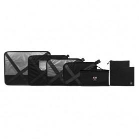 BUBM Tas Travel Bag in Bag Organizer 7 in 1 - QJT - Black
