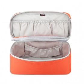 BUBM Tas Travel Pakaian Dalam Bag in Bag Organizer Multifungsi - TYD (ORIGINAL) - Blue - 3