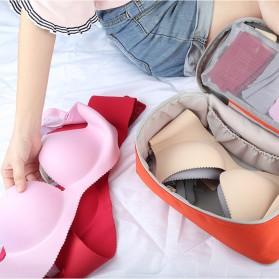 BUBM Tas Travel Pakaian Dalam Bag in Bag Organizer Multifungsi - TYD (ORIGINAL) - Blue - 4
