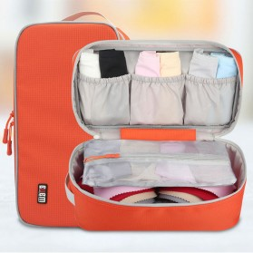 BUBM Tas Travel Pakaian Dalam Bag in Bag Organizer Multifungsi - TYD (ORIGINAL) - Blue - 6