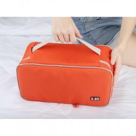 BUBM Tas Travel Pakaian Dalam Bag in Bag Organizer Multifungsi - TYD (ORIGINAL) - Blue - 8