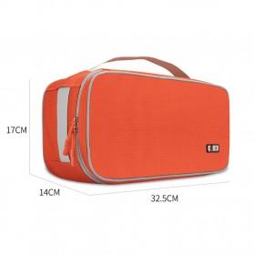 BUBM Tas Travel Pakaian Dalam Bag in Bag Organizer Multifungsi - TYD (ORIGINAL) - Blue - 9