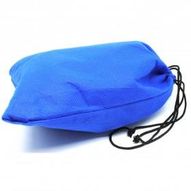 BUBM Bantal Leher Inflatable - U Pillow-S - Navy Blue - 5