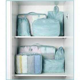 BUBM Tas Travel Bag in Bag Organizer 8 in 1 - LXSN8-01 - Light Green - 4