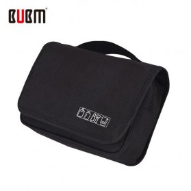BUBM Tas Travel Peralatan Mandi dan Make Up Toiletry Pouch - GGXS-A (ORIGINAL) - Black