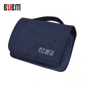 BUBM Tas Travel Peralatan Mandi dan Make Up Toiletry Pouch - GGXS-A (ORIGINAL) - Navy Blue