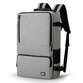 Mark Ryden Tas Ransel Laptop Travel Backpack Anti Thief 17 Inch - MR-TW6656 - Gray