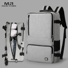 Mark Ryden Tas Ransel Laptop Travel Backpack Anti Thief 17 Inch - MR-TW6656 - Gray - 2