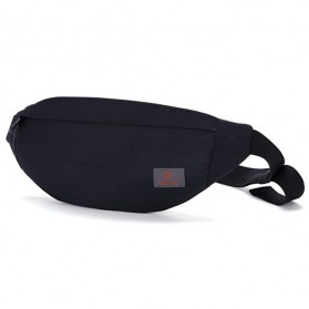 Tinyat Tas Pinggang Waistbag Nylon Waterproof - T201 - Black