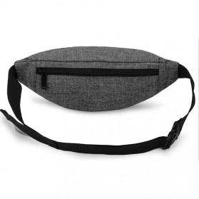 Tinyat Tas Pinggang Waistbag Nylon Waterproof - T201 - Black - 3