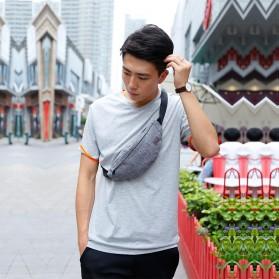 Tinyat Tas Pinggang Waistbag Nylon Waterproof - T201 - Black - 5