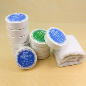 HOUSEEN Cotton Compressed Towel Small 30 x 30 cm - 42736
