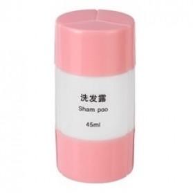 Botol Sabun Sampo Travel 45ml - Pink