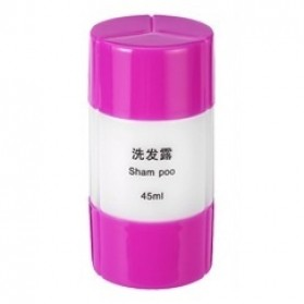 Botol Sabun Sampo Travel 45ml - Purple