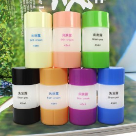 Botol Sabun Sampo Travel 45ml - B051653 - Blue - 3