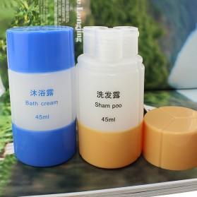 Botol Sabun Sampo Travel 45ml - B051653 - Blue - 4