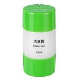 Botol Sabun Sampo Travel 45ml - Green