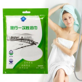 Travel Hygienic Disposable Towel Independent Fitted 70 x 140 cm / Handuk - TR001 - White