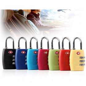 Jasit Lock Gembok Koper TSA Kode Angka - TSA-335 - Red - 3