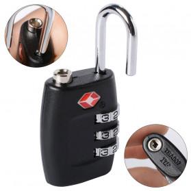 Jasit Lock Gembok Koper TSA Kode Angka - TSA-335 - Red - 4