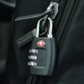 Jasit Lock Gembok Koper TSA Kode Angka - TSA-335 - Red - 6