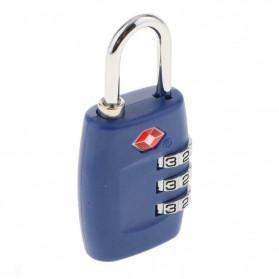 Jasit Lock Gembok Koper TSA Kode Angka - TSA-335 - Blue