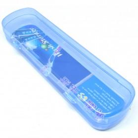 ONEUP Kotak Sikat Gigi Travel - WS839 - Blue