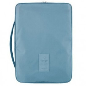 Tas Travel Bag in Bag Organizer untuk Baju Kemeja - Blue