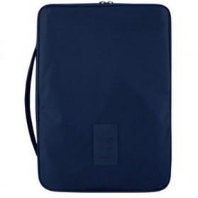 Tas Travel Bag in Bag Organizer untuk Baju Kemeja - Navy Blue - 1