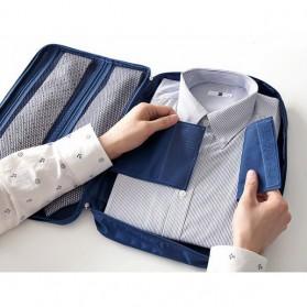 Tas Travel Bag in Bag Organizer untuk Baju Kemeja - Navy Blue - 3