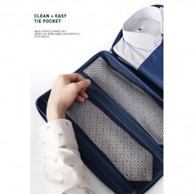 Tas Travel Bag in Bag Organizer untuk Baju Kemeja - Navy Blue - 4