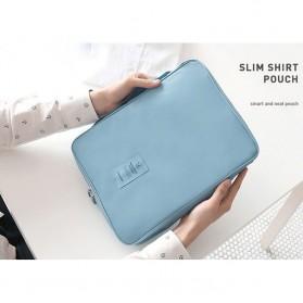 Tas Travel Bag in Bag Organizer untuk Baju Kemeja - Navy Blue - 7