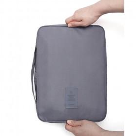 Tas Travel Bag in Bag Organizer untuk Baju Kemeja - Navy Blue - 12