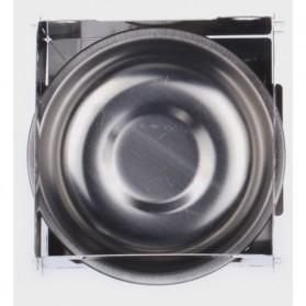 Lixada Stainless Steel Penahan Angin untuk Kompor Camping Outdoor - HWL-02 - Silver - 2