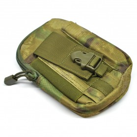 Tas Pinggang Crossbody Waistbag Tactical Army Camouflage - ZSXD001 - Army Green