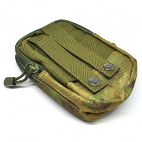 Tas Pinggang Crossbody Waistbag Tactical Army Camouflage - ZSXD001 - Army Green - 2