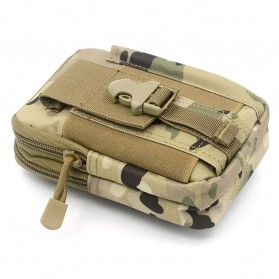 Tas Pinggang Crossbody Waistbag Tactical Army Camouflage - ZSXD001 - Army Green - 4