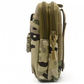 Tas Pinggang Crossbody Waistbag Tactical Army Camouflage - ZSXD001 - Army Green - 5